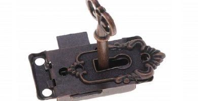 cerraduras para armarios de madera