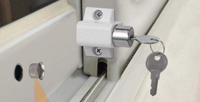 tienda online cerradura puerta corredera aluminio